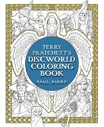 Discworld Map Terry Pratchett U0027s Discworld Coloring Book Book By Terry