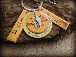 personalized remembrance jewelry 35 best in memory jewelry images on metal sting