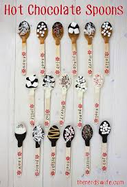 hot chocolate gift ideas hot chocolate spoons