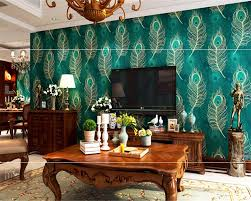 3d Wallpaper Home Decor Online Buy Wholesale Feather Wallpaper From China Feather