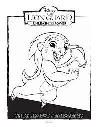 disney lion guard bunga coloring page mama likes this