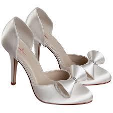 dyeable wedding shoes rainbow club kerrie dyeable ivory satin wedding shoes bridal uk