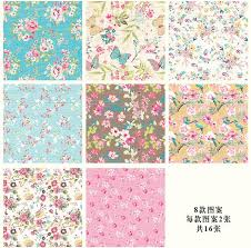modern wrapping paper 16 sheets of mini gift pattern wrapping paper book 8 designs