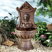 Water Fountain Home Decor by Classic Lion Indoor Outdoor Water Fountain