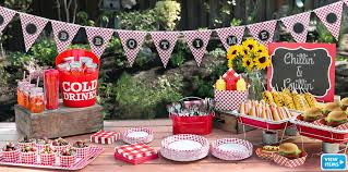 Bbq Party Decorations Picnic Party Theme Picnic Themed Party Supplies Party City