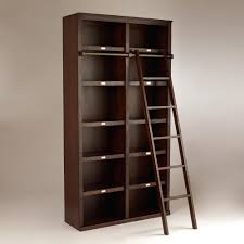 Bookcase Ladder Ikea by Floor To Ceiling Bookshelves Library Ladder Ikea Tall