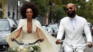 solange knowles is married see her wedding dress u2014 and beyoncé u0027s