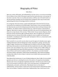 biography of plato plato socrates