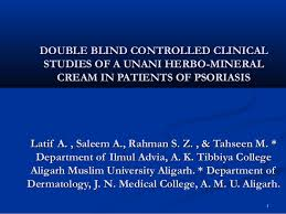 What Are Double Blind Studies Double Blind Controlled Clinical Studies Of A Unani Herbo Mineral Cre U2026