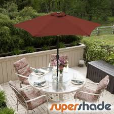 Coolaroo Umbrella Review by Amazon Com Supershade Patio Umbrella 11ft Diam W Tilt Alum