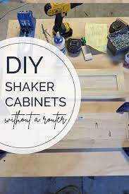 how to build base cabinets with kreg jig how to make shaker cabinet doors with kreg jig crafted by