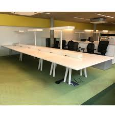 Joyn Conference Table Vitra Joyn Bench Desk White Bench Desk Desk With Ls