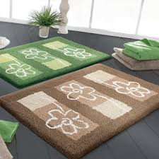 bathroom rugs in contemporary modern designs colors shapes