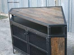 antique corner tv cabinet 15 best collection of industrial corner tv stands