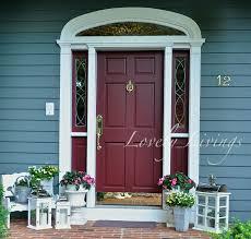 Teal Front Door by Front Door Decor
