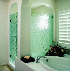 bathroom shower door ideas frosted glass door for the shower cubicle worth trying out