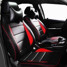 couvre si e auto personnalisé auto housse de siège équipée en cuir pu artificiall
