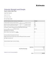 Free Estimates Templates by 100 Job Estimates Templates Estimate Templates For Construction