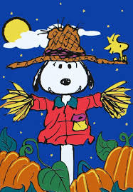 pumpkin patch snoopy u0027s scarecrow flag snoopn4pnuts com