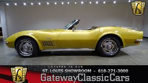 1972 corvette stingray 454 for sale 1972 chevrolet corvette ls5 454 for sale at gateway cars