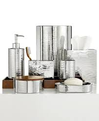 Gold And Silver Bathroom Accessories Mirrored Bathroom Accessories Home Design Ideas