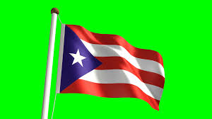 Green Day Flag Puerto Rico Flag Video Seamless U0026 Green Screen Motion Background