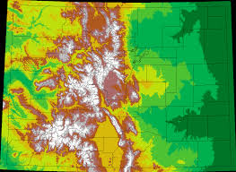 Colorado Maps by 29 Cool Colorado Springs Elevation Map Afputra Com