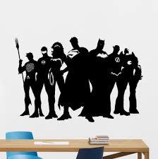aliexpress com buy free shiping diy superhero wall decal marvel aliexpress com buy free shiping diy superhero wall decal marvel dc comics vinyl sticker superman batman vinyl decal wall sticker home decoration from