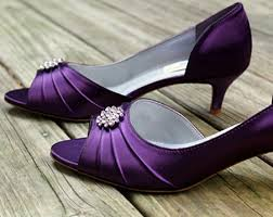 wedding shoes purple purple wedding shoes make you look different in your historic day