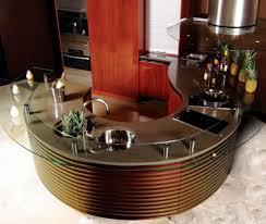 plan de travail cuisine arrondi la cuisine arrondie dans 41 photos pleines d idées cuisine darty