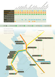 San Francisco Ferry Map by Bart San Francisco Map Michigan Map