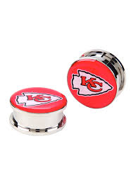 halloween express kansas city nfl kansas city chiefs steel spool plug 2 pack topic