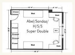 Lincoln Memorial Floor Plan Harper Hall University Housing University Of Nebraska U2013lincoln