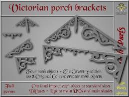 second life marketplace victorian porch brackets 1 li each 4