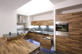 Kitchen Hood Designs Ideas by Stunning Kitchen Design In Wooden With Daring Glass Additions By