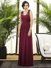 burgundy dress for wedding great sle burgundy dress for wedding modern chiffon