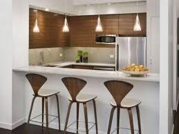 Kitchen And Bar Designs Cool Minimalist Kitchen Desk With Bar Concept
