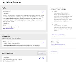 Resumes Online Search by Posting Resume On Indeed 21 Stylist Design Ideas Post Resume On