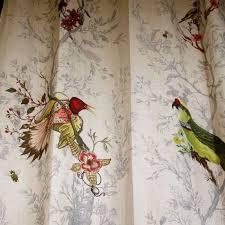 Animal Print Upholstery Fabric Upholstery Fabric Animal Motif Cotton Linen Birds N Bees