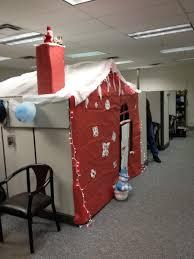 holiday cubicle redecoration prank practical jokes u0026 pranks