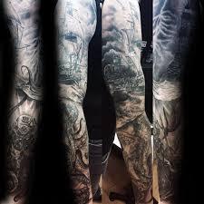 beach themed tattoos sleeve ocean themed tattoo sleeve tattoo