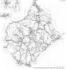 Road Map Virginia by Maps Of Rappahannock County Virginia Genweb