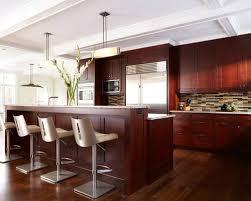 Kitchen Design Cherry Cabinets by Dark Cherry Cabinets Houzz