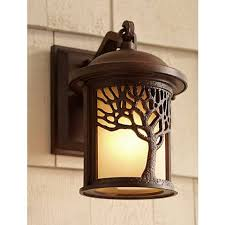 mission style outdoor wall light bronze mission style tree 9 1 2 high outdoor wall light u9311