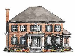 georgian style house plans georgian house plan with 3380 square and 4 bedrooms s from