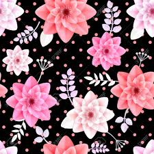 flowers seamless pattern element vector background a vector flowers seamless pattern element elegant texture for