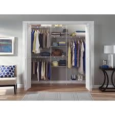 Astonishing Hanging Closet Storage Organizer Roselawnlutheran Metal Closet Organizer Kit 2 Roselawnlutheran