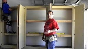 wood garage storage cabinets garage wall cabinet plans awesome workbenches and cabinets f tool
