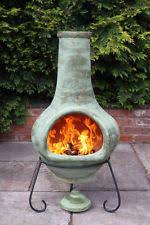 Large Terracotta Chiminea Clay Chiminea Barbecuing U0026 Outdoor Heating Ebay