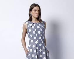 polka dot dress etsy